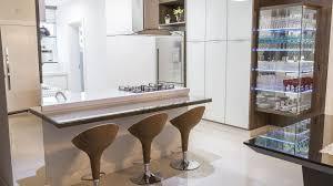 Excepcional Cozinha com bancada e cristaleira. - Vale Ambientes &JH84