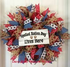 deco paper mesh 230 best pet wreath images on dog wreath deco mesh