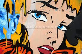 Mural Art Designs by Pop Art Wallpaper Wall Mural Wallsauce