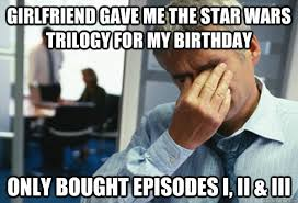 Star Wars Birthday Meme - watched japanese porn guy had bigger dick than me male first