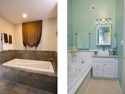 Before And After Bathrooms Miscellaneous Small Bathroom Renovations Before And After