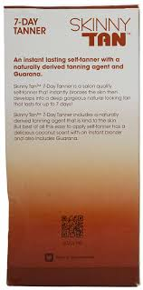 7 Best Images Of Easy by Amazon Com Skinny Tan 7 Day Tanner No Orange No Streak