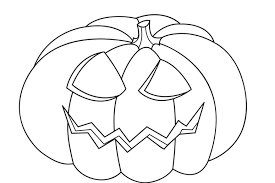 pumpkin free halloween coloring pages toddlers hallowen