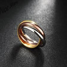 cool gold rings images Three colors golden rose gold rings cool men wear r004 a 8 fashion jpg
