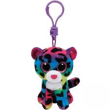 boos dotty leopard clip