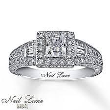 neil engagement ring neil neil engagement ring 1 ct tw diamonds 14k white