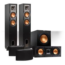 home theater speaker system klipsch reference 5 1 channel r 24f surround home theater speaker