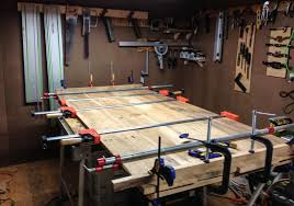 table top glue up milling and joining tabletop praxe