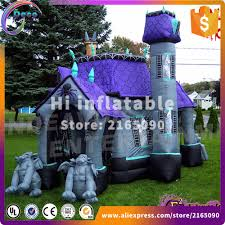 online shop 6 4 3m halloween inflatable haunted house halloween