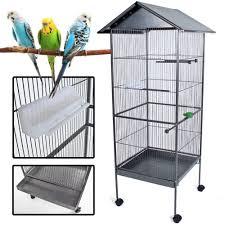 uccelli in gabbia tectake voliera gabbia per uccelli grande modelli differenti