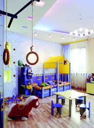 accessories simple and neat yellow grey kid bedroom decoration