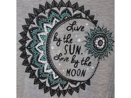 womens plus size 3x live by the sun by the moon raglan