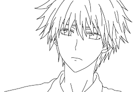 anime vampire coloring pages kids coloring