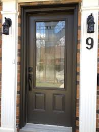 Exterior Wood Stain Colors Elearan Com by Metal Front Doors Beverly Double Full Arch Modern Metal Door