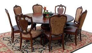 Kitchen Table Close Up Old World Dining Room Furniture Hand Painted Hutches Dinning Room