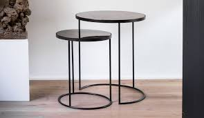 Nesting Coffee Tables Notre Monde Nesting Coffee Table Set Dopo Domani