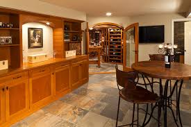 wine cellar table howard county custom wine cellar owings brothers contracting