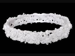 hair wreath bridal communion hair wreath headpiece