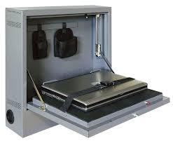 Secure Laptop To Desk by Atlantic Metal Laptop Security Cabinet 19 1 2 In 3ctd3 Wlap2016