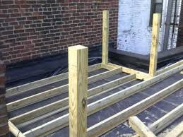 blackwood st rubber roof roof deck project youtube