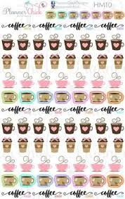 coffee planner stickers printable 30 latte life planner stickers life planner stickers sticker