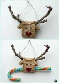 diy ornament craft ideas for to make burlap
