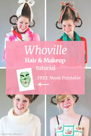 the grinch costume for toddlers laughing latte whoville hair and makeup tutorial free grinch
