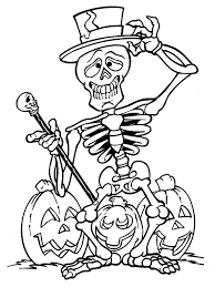 halloween coloring pages printables color halloween children