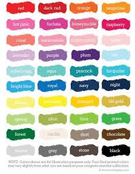 color swatches color swatches pipsy