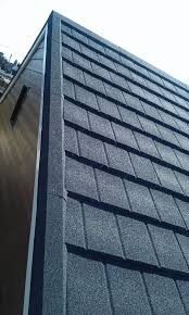 Metal Roof Tiles Britmet Slate 2000 Lightweight Metal Roof Tile Titanium Grey