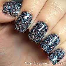 fourth of july glitter gels u2022 casual contrast