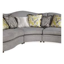 Circular Sectional Sofa Curved Sectional Sofas Houzz