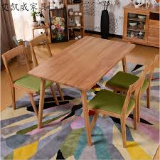 White Oak Dining Room Set - wood dining tables and chairs sets imported super large white oak