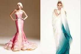 ombre wedding dress trending now ombre wedding gowns daring delphia