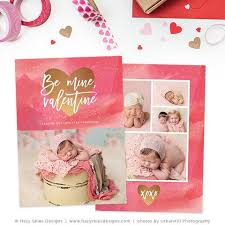 valentine u0027s photoshop templates for photographers photo card