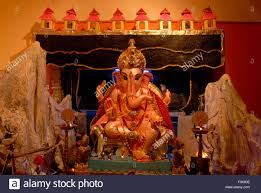 home decoration of ganesh festival idol lord ganesh decoration ashtavinayak home worshiping ganapati