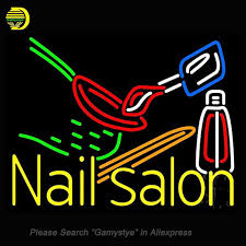 night light nail salon neon signs for nail salon logo neon bulbs sign handcraft decorate