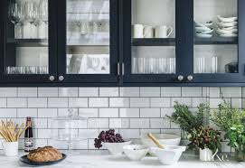 kitchen countertops with green tiles backsplash idea surripui net