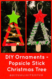 popsicle stick christmas tree u2013 simple diys u2013 kids activities