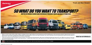 mahindra smg is the new dealer for mahindra trucks and buses