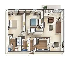 one bedroom house floor plans 1 2 4 bedroom cus student housing in toledo oh