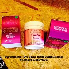 Scrub Bvr bvr collagen bvr scrub health on carousell