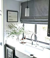 Window Treatment Ideas For Kitchens Modern Window Covering Travelandwork Info