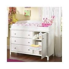 Nursery Dresser With Changing Table White Drawer Ba Changing Table Infant Nursery Dresser In