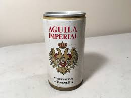 vintage collectible beer can garage basement collection aguila