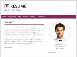 Css Resume Web Resume Examples Resume Example And Free Resume Maker