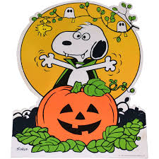 Peanuts Halloween Coloring Pages by 1965 Peanuts Snoopy With Halloween Jack O Lantern Cardboard Die