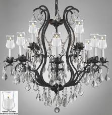 Outdoor Votive Candle Chandelier by F83 B31 3034 8 4 Gallery Wrought With Crystal Crystal Chandelier