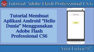 membuat aplikasi android sederhana dengan flash membuat aplikasi android pertama menggunakan adobe flash