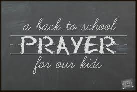 a back to prayer for our kids i can teach my child